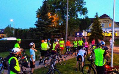 Éjszakai kerékpártúra az Őrségben