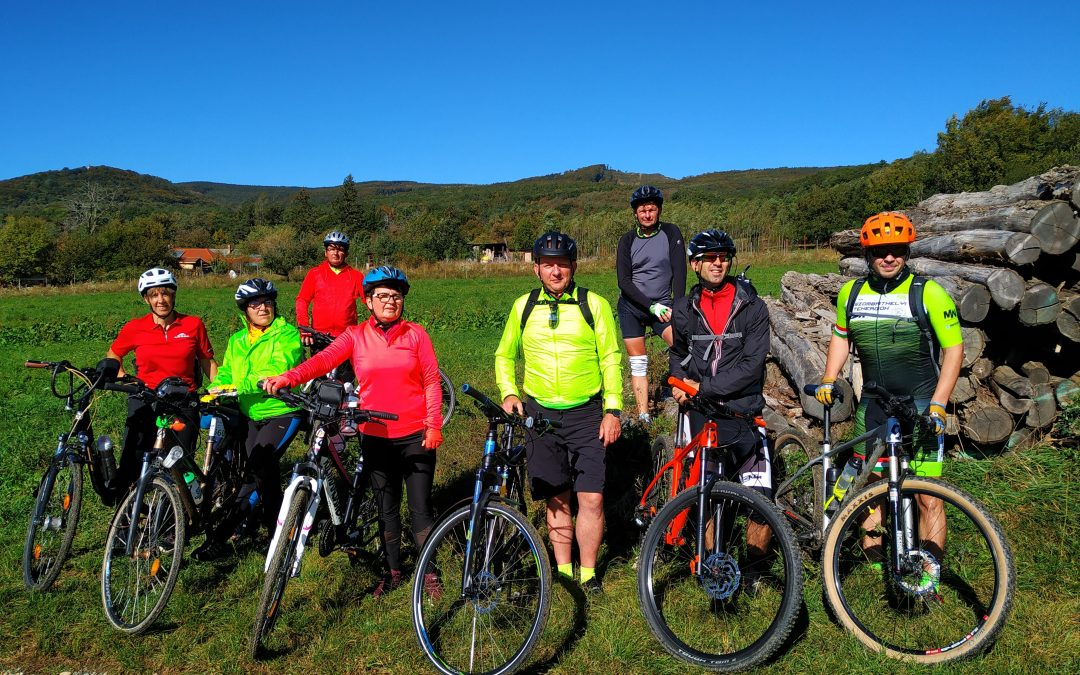 Tekerj a zöldbe! Kerékpártúra Szombathelyről Kőszegre, Cák és Velem érintésével…